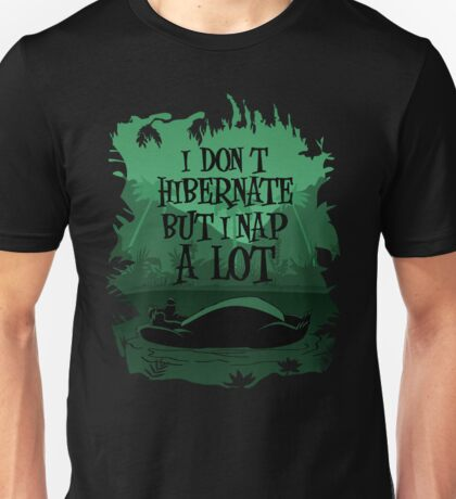 Nap in the Jungle Unisex T-Shirt