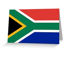 South Africa - Standard Greeting Card