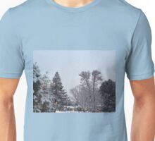 Winter Morning Snow Scene Unisex T-Shirt