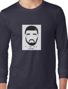 Drake Sticker Long Sleeve T-Shirt