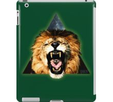 Lion Triangle iPad Case/Skin