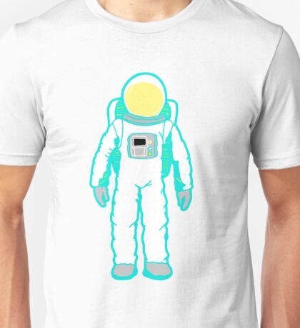 Colorful Astronaut  Unisex T-Shirt