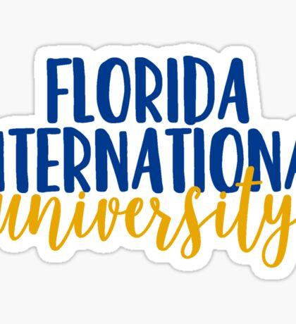 Florida International University Sticker