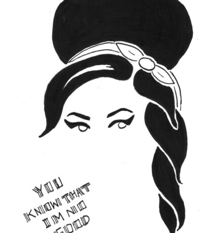 Amy Winehouse Sticker Sticker