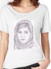 Malala Yousafzai Women's Relaxed Fit T-Shirt