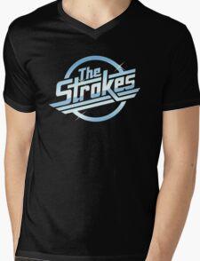 The Strokes V2 Mens V-Neck T-Shirt