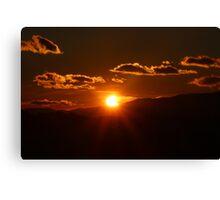 Partial Solar Eclipse Canvas Print