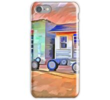Old Gas Station iPhone Case/Skin
