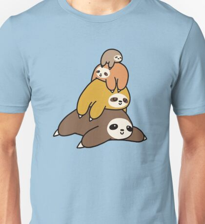 Sloth Stack Unisex T-Shirt