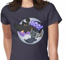 Boo! -Shiny- Womens Fitted T-Shirt