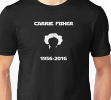 Carrie Fisher Memorial Unisex T-Shirt