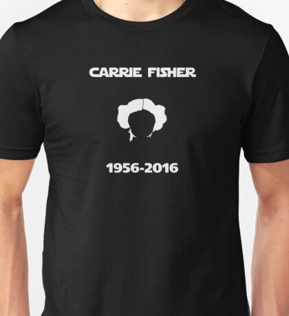 Carrie Fisher Memorial Unisex T-Shirt