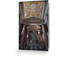 Italy. Venice. Madonna and Child. Greeting Card