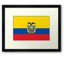 Ecuador - Standard Framed Print