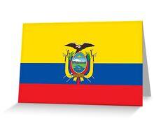 Ecuador - Standard Greeting Card