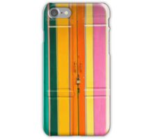 Colour lines iPhone Case/Skin