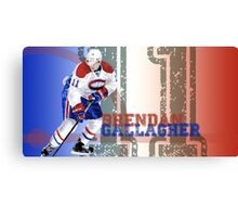 A very talented hockey player from Montreal Canvas Print