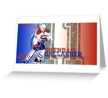 A very talented hockey player from Montreal Greeting Card
