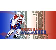 A very talented hockey player from Montreal Photographic Print