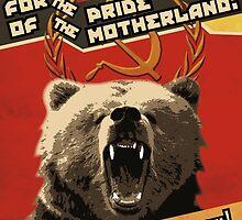 Respect the Bear by WondraBox