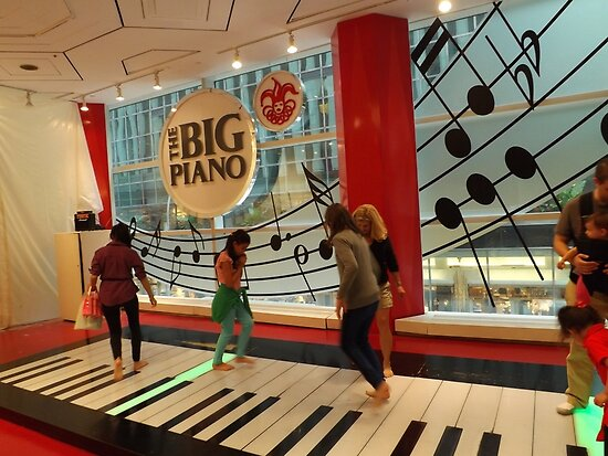 The Big Piano, FAO Schwarz Toy Store, New York City by lenspiro