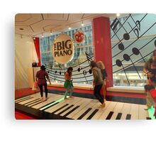 The Big Piano, FAO Schwarz Toy Store, New York City Metal Print