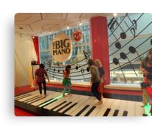 The Big Piano, FAO Schwarz Toy Store, New York City Metal Print