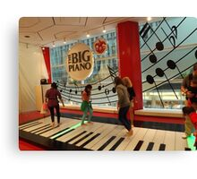 The Big Piano, FAO Schwarz Toy Store, New York City Canvas Print