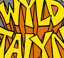 Bill and Ted - Wyld Stalyns - Logo Sticker