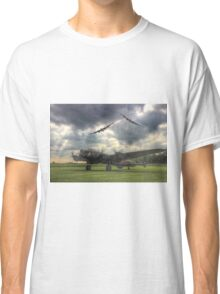 The Prince`s Break - The 3 Lancasters East Kirkby - HDR Classic T-Shirt