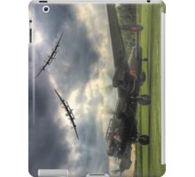 The Prince`s Break - The 3 Lancasters East Kirkby - HDR iPad Case/Skin