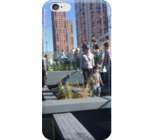 Play Area, High Line, New York City's Elevated Park and Garden iPhone Case/Skin