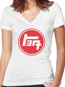 Retro Japan Toyota Women's Fitted V-Neck T-Shirt