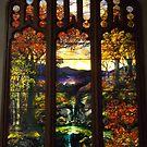 Tiffany Glass, Metropolitan Museum of Art, New York City by lenspiro