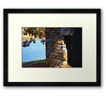 Hanging Rock State Park Framed Print