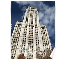Classic Woolworth Building, Lower Manhattan, New York City Poster
