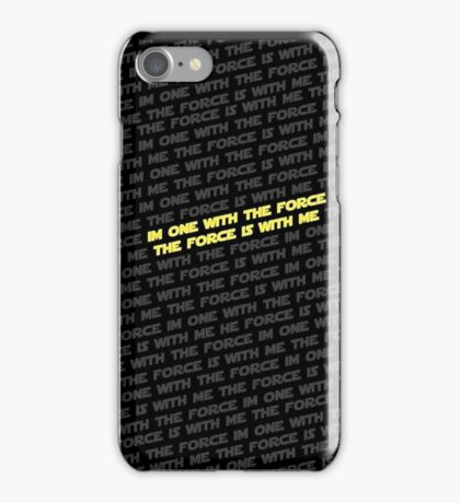 Force Creed iPhone Case/Skin