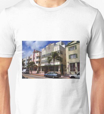 Miami Beach - Art Deco Unisex T-Shirt