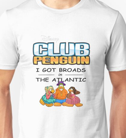 Club Penguin Panda / Broads in Atlanta Unisex T-Shirt