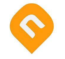 NAiA Logo - Light Orange by NAiAcrypto