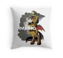 Daring Survivor Throw Pillow