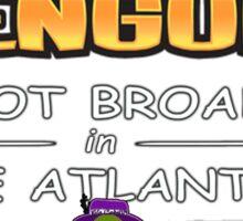 Club Penguin Panda / Broads in Atlanta  Sticker