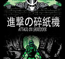 Attack on Shredder (Leo) by GreenHRNET