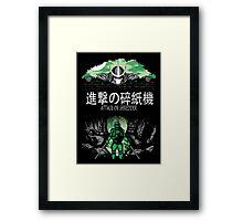 Attack on Shredder (Leo) Framed Print