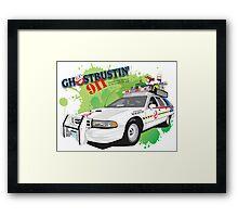 Ghostbustin' 911 Framed Print