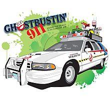 Ghostbustin' 911 Photographic Print