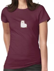 Happy Llama Womens Fitted T-Shirt