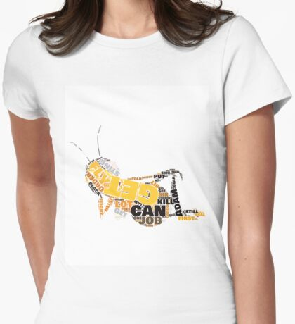 """The Bee Movie """"Barry Bee Benson"""" Womens Fitted T-Shirt"""