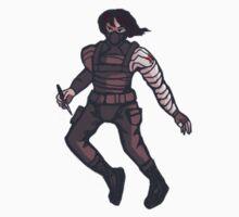 Bucky Barnes by fallingjaegers