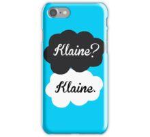 Klaine? Klaine iPhone Case/Skin